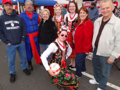Fun at the Little Poland Festival in New Britain, CT