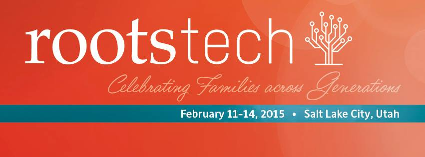 RootsTech & FGS 2015