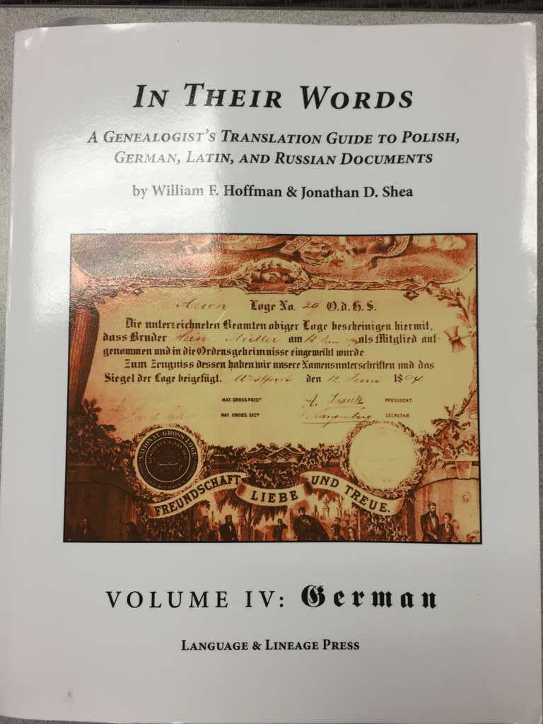 """In Their Words - German"" - Released"